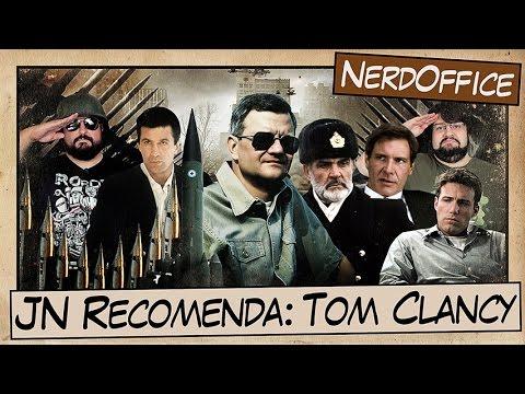 JN Recomenda: Filmes de Tom Clancy | NerdOffice S05E32