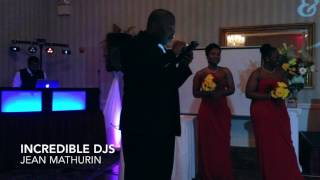 Professional Wedding DJ Personalizes Wedding Party Introductions