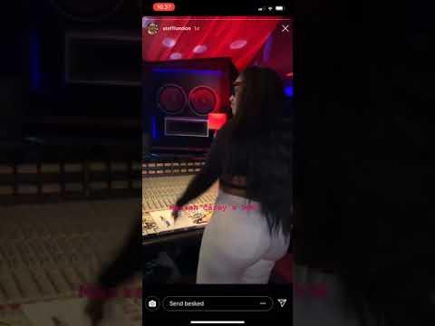 "Stefflon Don On The Remix To Mariah Carey's ""A No No"""