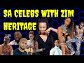 Gambar cover South African Celebrities Who Are of Zimbabwean Decent