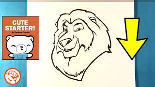 How to Draw Mufasa - Lion King - Easy Pictures to Draw