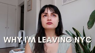 Why I'm Leaving NYC + Where To Next