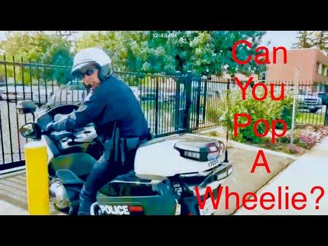 """""""Can You Pop A Wheelie"""" First Amendment Audit Fresno P O L I C E Headquarters"""