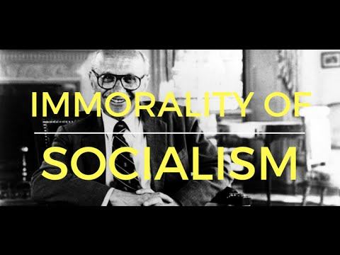 Milton Friedman on the immorality of socialism