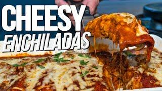 The Best Enchiladas EVER | SAM THE COOKING GUY 4K