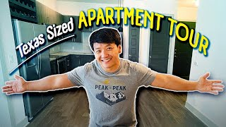 Texas Sized APARTMENT TOUR! Why I Moved to Dallas