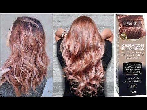 Testando Coloração Nude Loiro Rosé (Kert) por Rafael