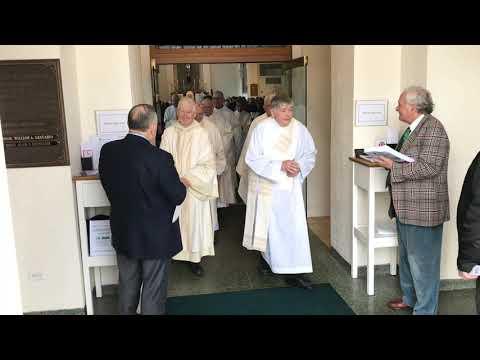 Installation Mass for new Pastor William Platt with Bishop Frank Caggiano in attendance.