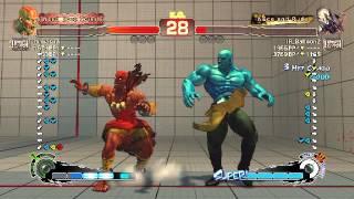 USF4: dimiakira (Dhalsim) vs Koumori (Seth)