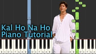 har-ghadi-badal-piano-tutorial-notes-midi-kal-ho-na-ho-hindi-song