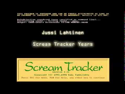 Jussi Lahtinen - Scream Tracker Years