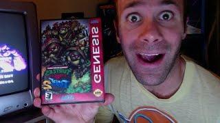 Live Play of TMNT Streets of Rage 2 (Genesis Hack)