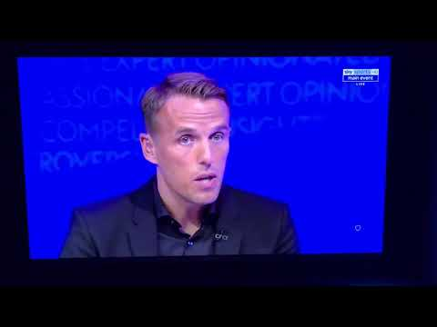 Phil Neville struggling couting