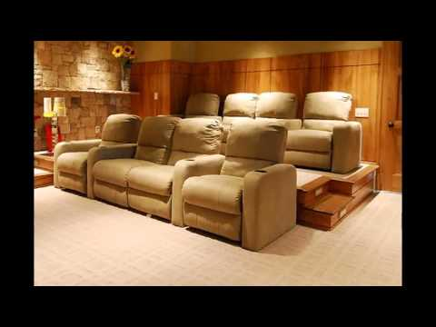 Home Theater Sofa Seating Ideas You