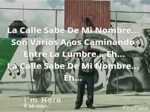 C-kan La Calle Sabe De Mi Nombre LETRA