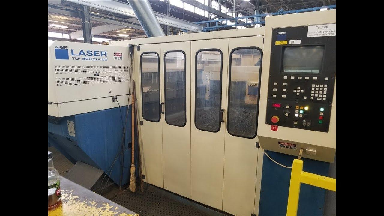 trumpf l2503e cnc laser youtube rh youtube com Trumpf Laser Maintenance TRUMPF Press Brake User Manual