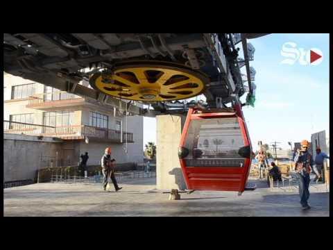 Hacen pruebas del Teleférico de Torreón