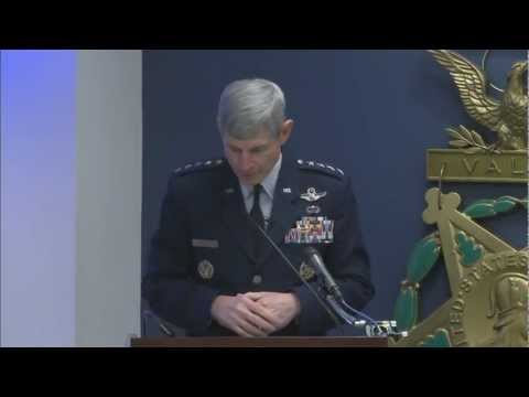 Captain Barry F. Crawford Jr. Receives Air Force Cross
