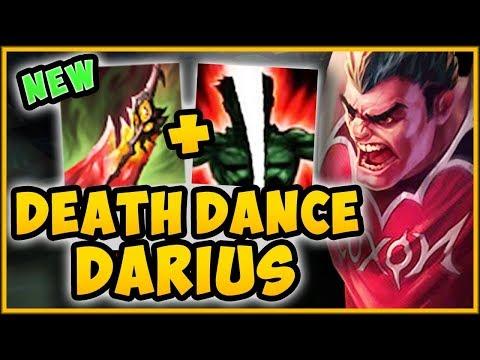WTF DEATH DANCE HEAL WORKS WITH DARIUS ULT?? DEATH DANCE DARIUS SEASON 9 GAMEPLAY League of Legends