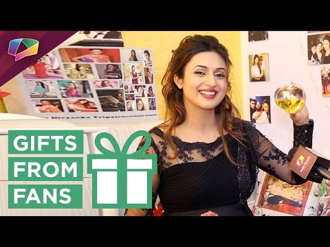 Divyanka Tripathi Dahiya Receives Birthday Gifts From Her Fans | Exclusive