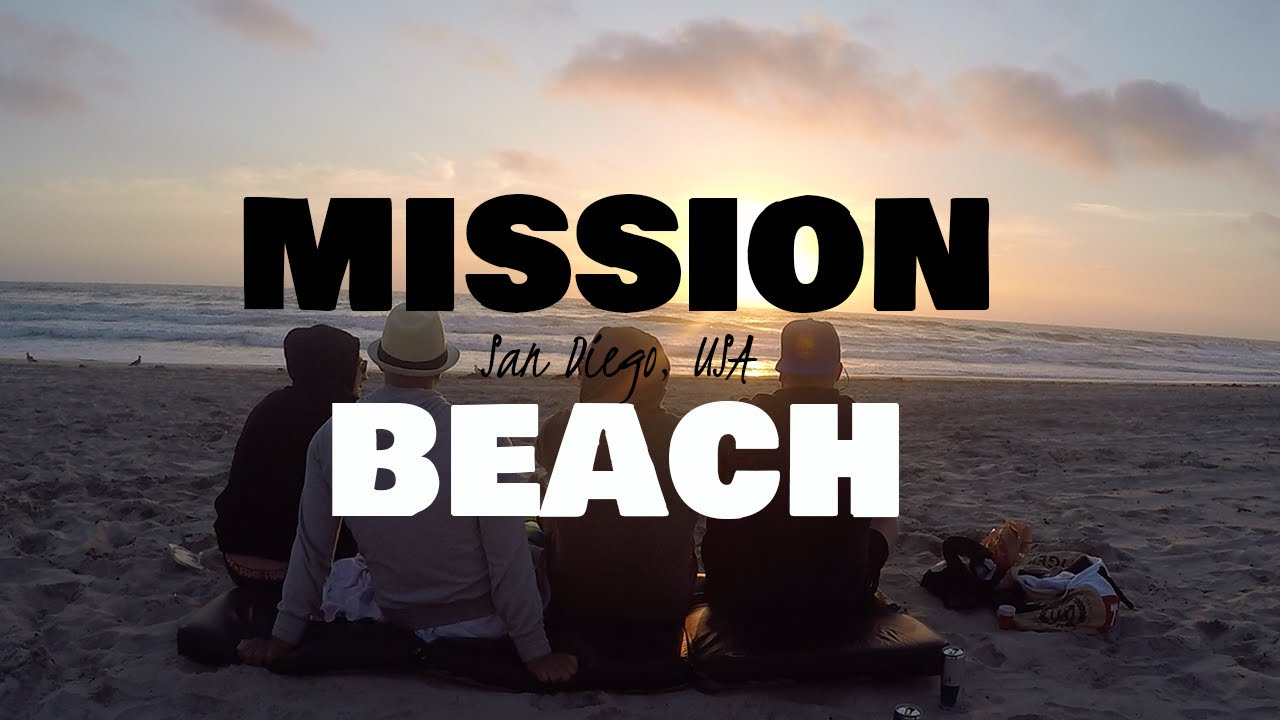 Mission Beach SUNSET│San Diego, USA