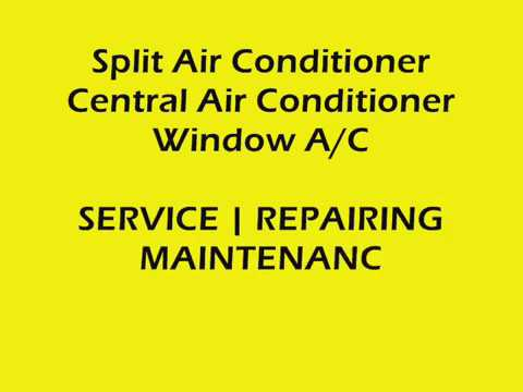 All Brands Air Conditioner Service Repair Maintenance Center and Workshop in Dubai