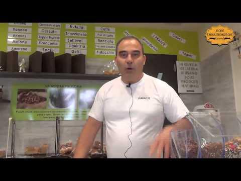 Il gelato alla Mandorla di Agrigento