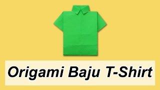 Cara Membuat Origami Baju T-Shirt
