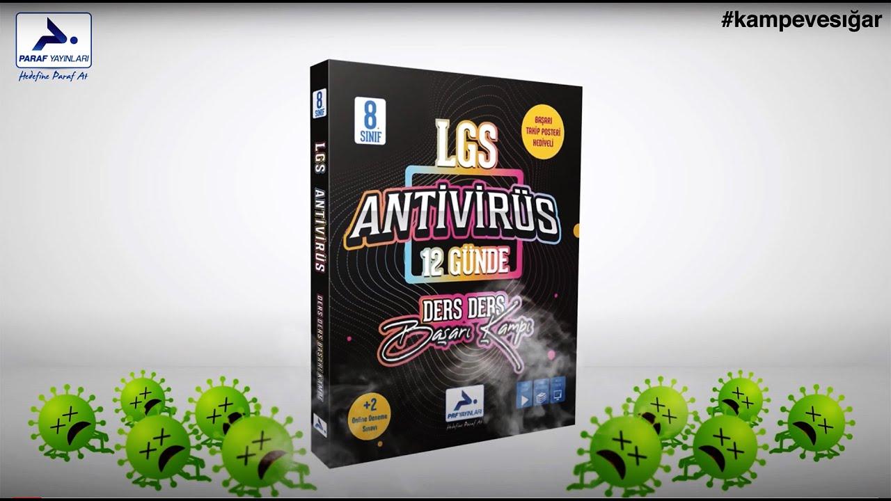 17 Günlük Tam Kapanmada LGS'yi Bitir! | LGS Antivirüs Başarı Kampı | LGS Kaynak Öneri #Kampevesığar