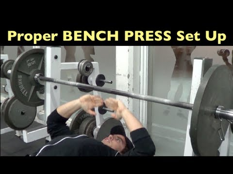 Bench Press Tips   Proper Set Up   YouTube