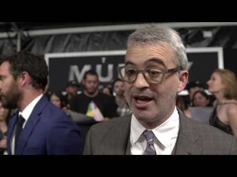 The Mummy Premiere New York -  Alex Kurtzman (official Video)