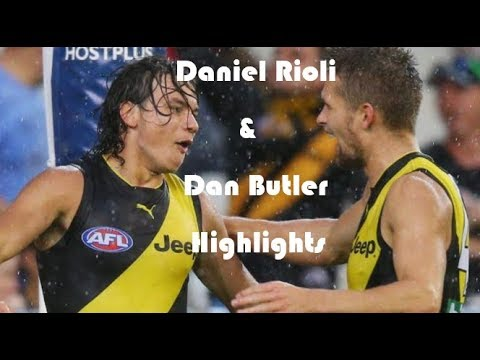 Daniel Rioli and Dan Butler Highlights 2017