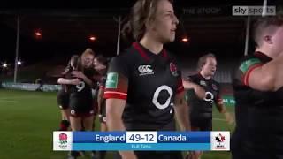 Highlights, England 49 - 12 Canada