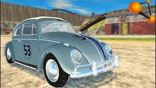 АНОМАЛЬНЫЙ Volkswagen Beetle [Тест НА ПРОЧНОСТЬ] - BeamNg Drive