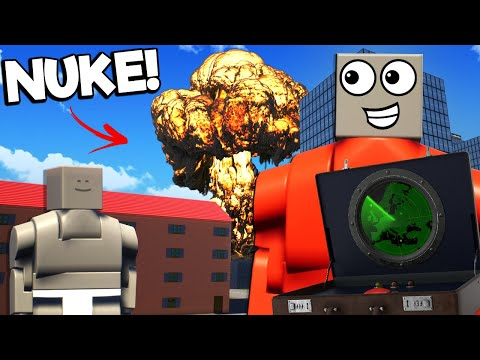 OB & I Spawned in LEGO NUKES in a NO RULES Brick Rigs Roleplay Server!