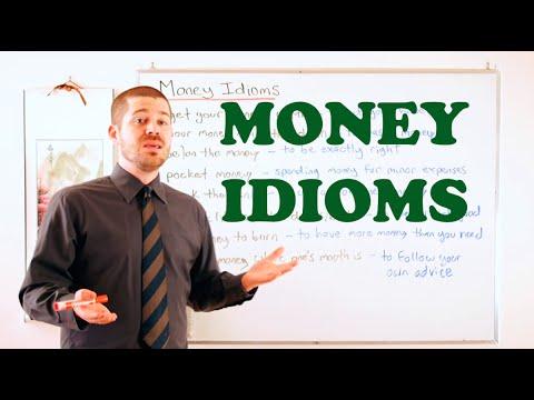 Idiom Series - Money Idioms