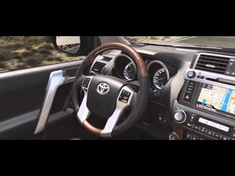 Toyota Land Cruiser Prado Linea Europea 2015 Interior