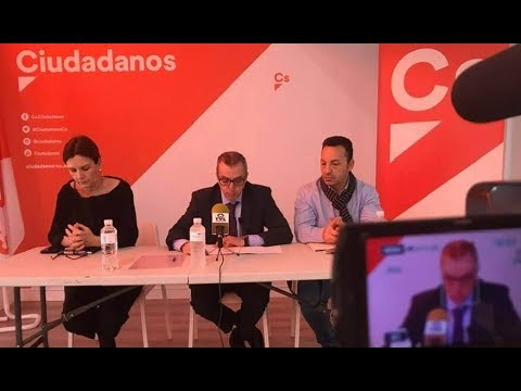 RUEDA DE PRENSA GRUPO MUNICIPAL DE CIUDADANOS LEGANÉS - YouTube