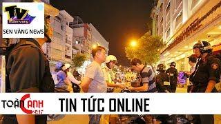 Màn rượt đuổi, chống trả công an gây náo loạn cả một góc Sài Gòn | Sen Vàng Tivi