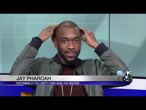 Jay Pharoah does several impressions ahead of his Liberty Funny Bone shows