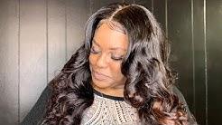 Custom wig tutorial and install featuring Super Virgin Hair
