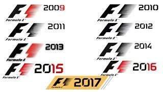 F1 game trailer compilation (2009 to 2017)