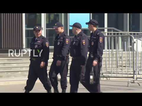 Russia: Moscow beefs up security ahead of WC opening game