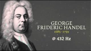 Handel - Suite in F-major (Hornpipe) @ 432 Hz