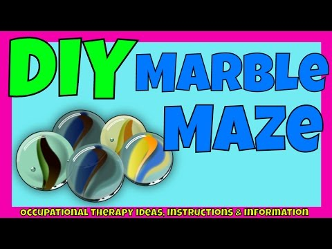 How to make your own Marble Maze game | Motor Skills | Visual Perception | Co-ordination