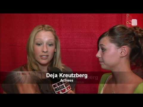 Deja Kreutzberg at The Guest at Central Park West Movie Premiere