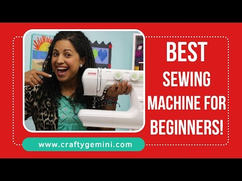2016 BEST sewing machine for beginners!!