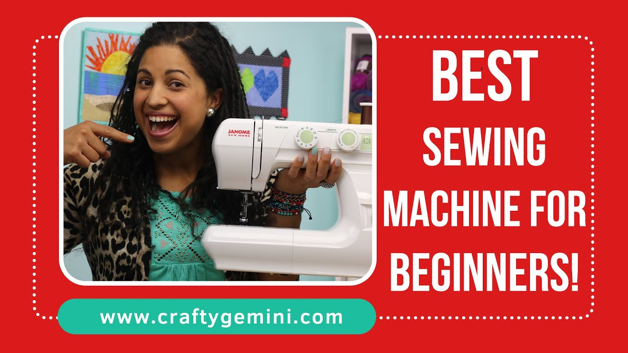 2016 best sewing machine for beginners youtube jeuxipadfo Image collections