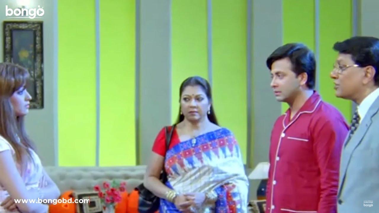 শাকিব গ্রামের ছেলে বলে তাকে তুচ্ছ তাচ্ছিল্য করছে অহনা | Dui Prithibi | Shakib Khan, Ahona | Scene