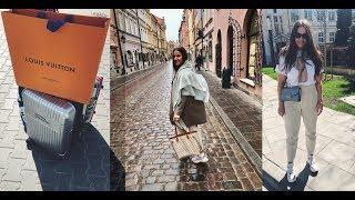 VLOG: Варшава, Гданьск, покупка в Louis Vuitton
